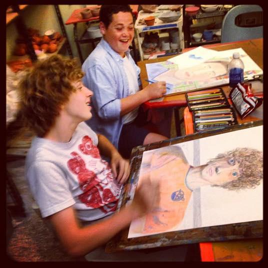 Draw Paint – Teens – Studio Arts