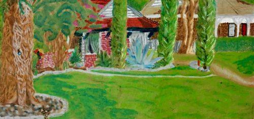 College Portfolio Prep, oil pastel, Studio Arts